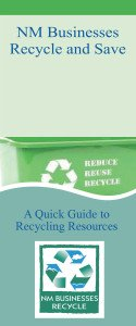 Businesses Recycle and Save Brochure