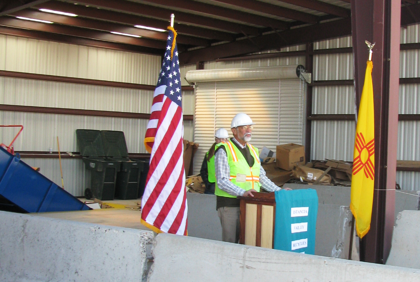 Torrance County Recycling Hub Grand Opening